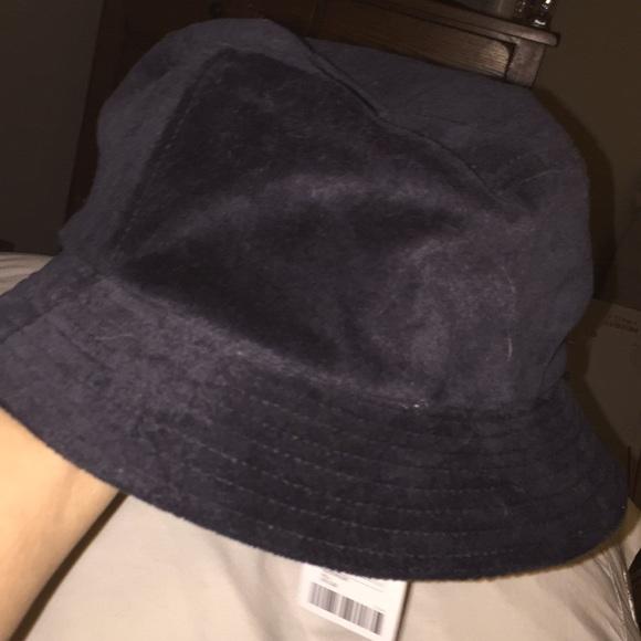 1101dda26 Urban Outfitters Accessories | Nwt Black Velvet Bucket Hat | Poshmark